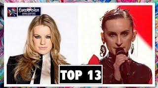 TOP 13 | EUROVISION 2020 | W/ UKRAINE & SLOVENIA | SO FAR