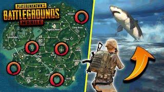 Top 10 SECRET EASTER EGGS in PUBG Mobile History! (Secret Locations & Tricks)