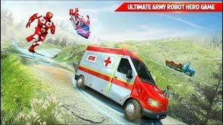 US Army Robot Hero Ambulance Robot Games - Android Gameplay (Full HDR)