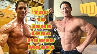 WWE Top 10 John Cena Moves Power Amit Rana WWE | John Cena return 2020 | WWE Top 10 John Cena videos