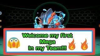 Evolving my first Pokemon into Mega in Pocket Fantasy..!!
