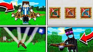 10 Things You Didn't Know About The CROSSBOW in Minecraft!