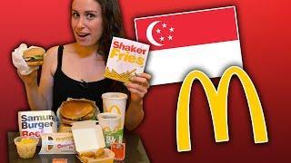 The TASTIEST McDonald's in Singapore