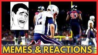 New England Patriots vs Houston Texans (MEMES & Reactions) - NFL 2019 Week 12