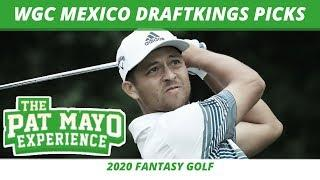 Fantasy Golf Picks - 2020 WGC Mexico DraftKings Picks, Predictions, Sleepers and Preview