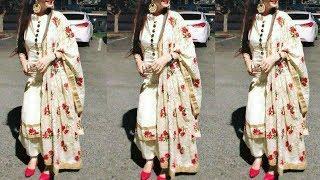 Latest Punjabi Suit Designs 2019 // Top 10 Plain Salwar Suit Ideas