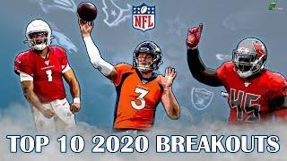 Top 10 BREAKOUT Candidates For The 2020 NFL Season!