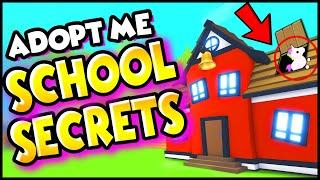 TOP 10 *INSANE SECRETS* in the SCHOOL in Adopt Me U NEVER NOTICED! Adopt Me Hacks & Secrets! PREZLEY