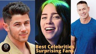 Top 10 Best Celebrities Surprising Fans Moments of 2019