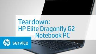 Service Teardown: HP Elite Dragonfly G2 Notebook PC | HP Computer Service | HP
