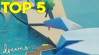 Top 5 Best Creations Of January   Dreams PS4