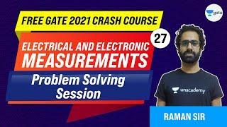 Problem Solving Session   Measurements   Lec 27   GATE 2021 Crash Course