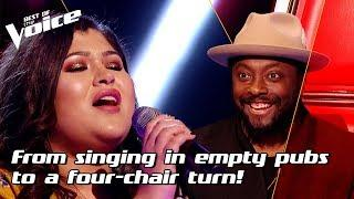 Lucy Milburn sings 'Colorblind' by Amber Riley   The Voice Stage #17