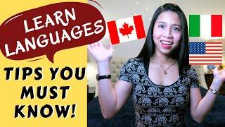 11 TOP TIPS TO LEARN A LANGUAGE | MUST KNOW