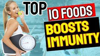 Top 10 foods that boost immune system - how to boost immunity power | immunity boosting foods