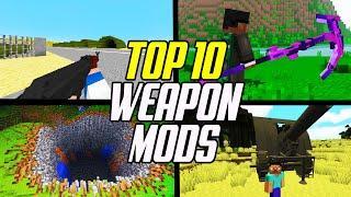 Top 10 Best Minecraft Weapons Mods