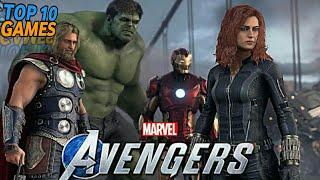 Top 10 Marvel Games For Android 2019 / 2020 | GAMES ON MOBILE - ULTRA HD GRAPHICS!