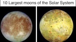 Top 10 Largest moons of the Solar System