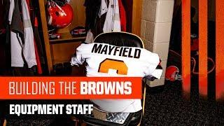 How the Browns Equipment Staff Preps for Gameday | Building the Browns 2019