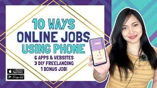10 Ways to Work Online Using Your Smart Phone in 2020!