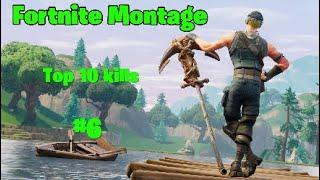 The Best Top 10 Kills of the day #6|Fortnite Montage+Giveaway