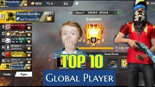 13000+ Rank Point | GLOBAL PLAYER TOP 10 |  PANDEY GAMING