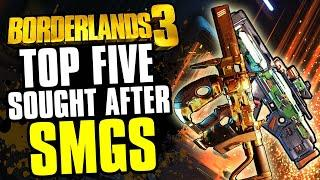 Top 5: Most Sought after Legendary SMGs in Borderlands 3 right now!