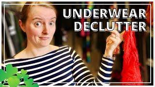 ☘️ Quick Closet Decluttering WIN - Decluttering Undergarments & Socks – Declutter Challenge 2020