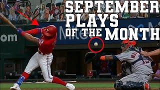 September Top 50 Sports Plays of the Month | Highlights & Best Moments