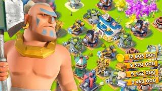 Boom Beach FULLY MAXED OUT BASE!