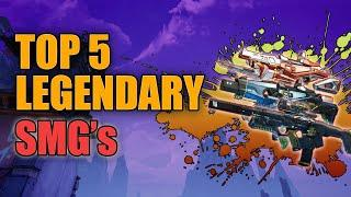 Borderlands 3 | Top 5 Legendary Submachine Guns - Best SMG's for End Game Builds