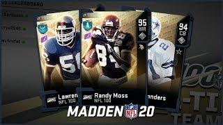 Opening Our FREE NFL 100 Legend Pack | Ranking The Top 10 And Who You Should Choose