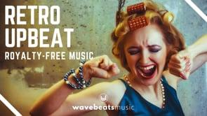Upbeat Retro Rock N Roll Vintage Groove [Royalty Free Background Music]