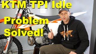 KTM TPI Problem? Air Screw and IDLE for KTM Stroke TPI Bikes Explained