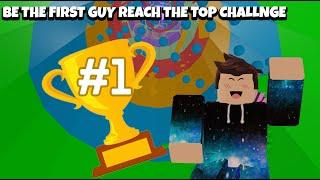 BE THE FIRST GUY REACH THE TOP CHALLENGE! | ROBLOX TOWER OF HELL