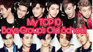 TOP 10 Favorite Boys Group Old School