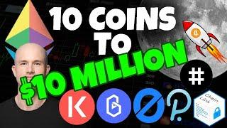 TOP ALTCOINS AUGUST 2020 - 10 COINS TO $10 MILLION! Top Altcoins to GET RICH for 2020
