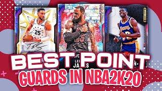 Top 10 point guards in NBA 2K20 MYTEAM