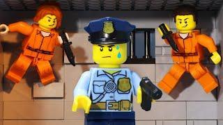 Top 10 Prison Escape Movies - Lego Prison Break (Full Story)