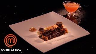 Chocolate Ginger & Honey Dessert | MasterChef South Africa | MasterChef World
