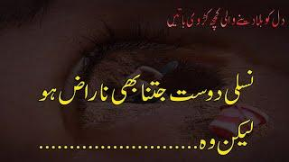 Best Urdu Quotations About Relationship| Life Changing Quotes |Jarwar Poetry| Hindi Quotes