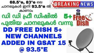 Big breaking news new channels added in gsat 15 @ 93.5°e    ku band free satellite channels