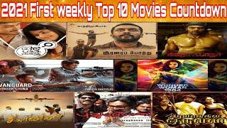 2021 - First Weekly Top 10 Countdown | January 1st Week New Tamil Movies | Upcoming Staarr