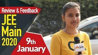 JEE Mains 2020 (9th January): Paper Analysis, Review, Students Feedback, Questions & Concepts Asked