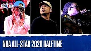 Chance The Rapper 2020 NBA All-Star Haltime!