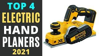 Best Electric Hand Planer Reviews 2021 -Top 4 Picks [Buying Guide]
