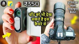 TOP 10 BEST DSLR CAMERA | CAMERA ACCESSORIES GADGETS ON AMAZON | DSLR PHOTO VIDEOGRAPHY TIPS
