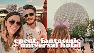 WALT DISNEY WORLD VLOGS! DAY 5 + 6 - EPCOT, FANTASMIC & UNIVERSAL HOTEL | LUCY WOOD [AD-GIFTED]