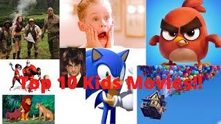 Top 10 Kid movies Lockdown special by memTV