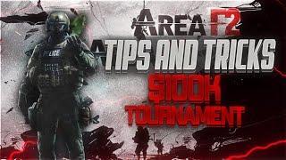 Area F2 | Best Tips + Tricks!? | 100k Tournament!?